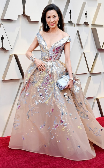 Michelle Yeoh, 2019 Oscars, 2019 Academy Awards, Red Carpet Fashions