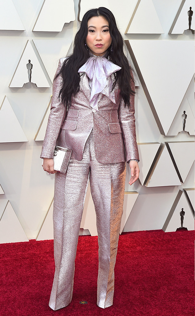 Awkwafina, 2019 Oscars, 2019 Academy Awards, Red Carpet Fashions