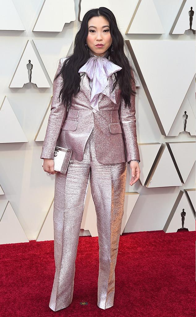 Awkwafina, 2019 Oscars, 2019 Academy Awards, Red Carpet Fashions