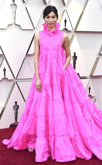 Gemma Chan, 2019 Oscars, 2019 Academy Awards, Red Carpet Fashions