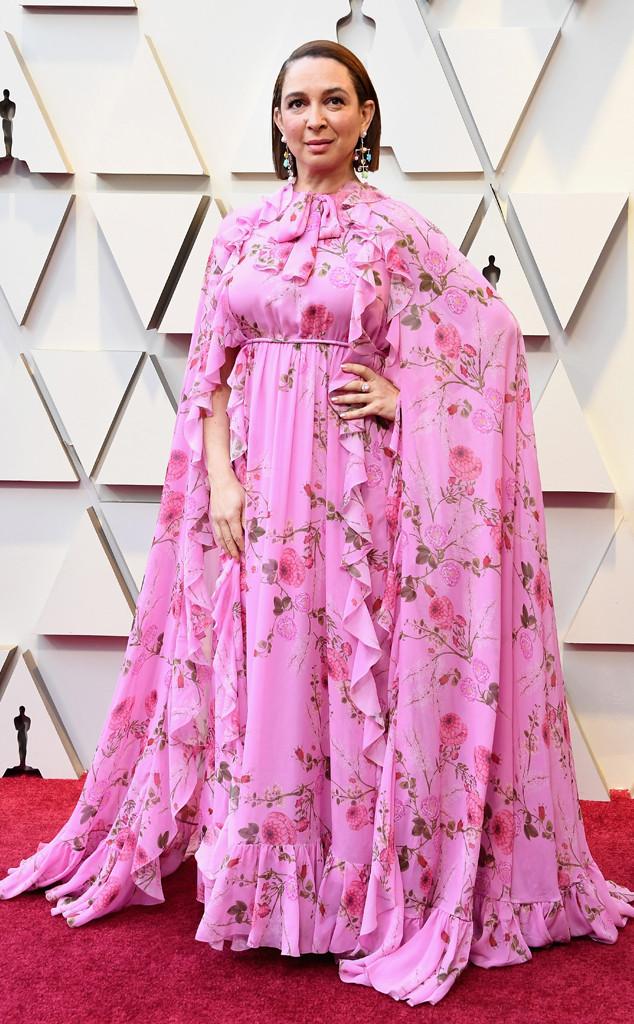 Maya Rudolph, 2019 Oscars, 2019 Academy Awards, Red Carpet Fashions