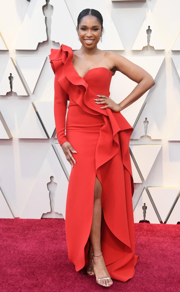 Jennifer Hudson, 2019 Oscars, 2019 Academy Awards, Red Carpet Fashions