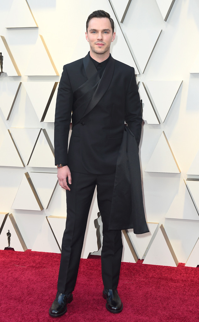 Nicholas Hoult, 2019 Oscars, 2019 Academy Awards, Red Carpet Fashions