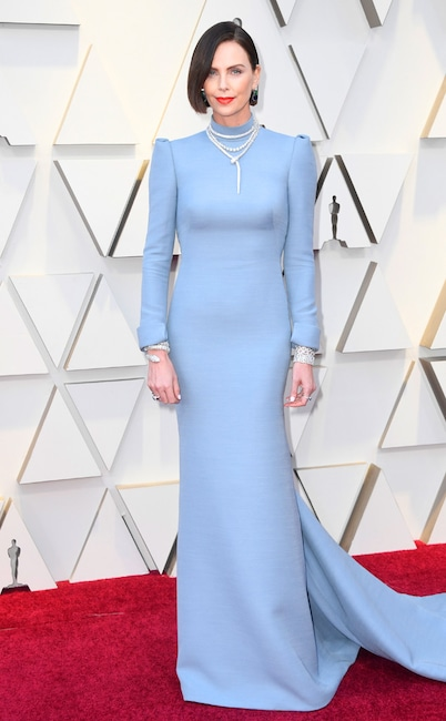 Charlize Theron, 2019 Oscars, 2019 Academy Awards, Red Carpet Fashions