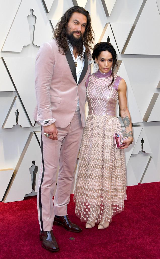 Jason Momoa, Lisa Bonet, Couples, 2019 Oscars, 2019 Academy Awards