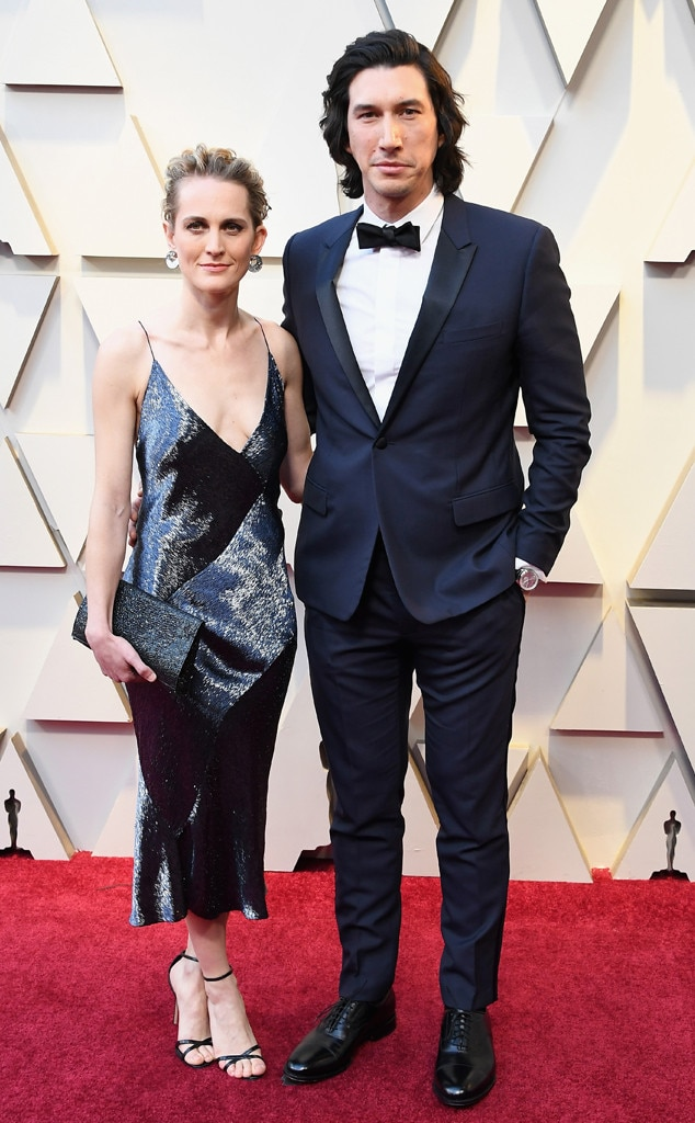 Joanne Tucker, Adam Driver, Couples, 2019 Oscars, 2019 Academy Awards