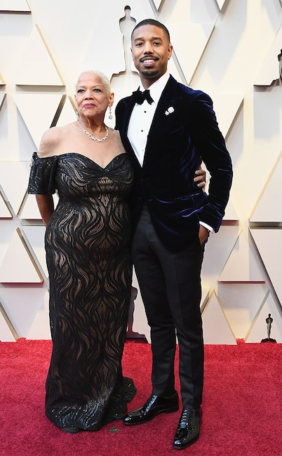 Michael B Jordan, Celebs and Moms, 2019 Oscars