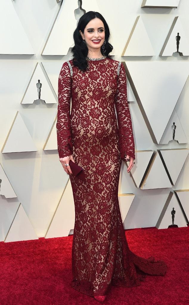 Krysten Ritter, 2019 Oscars, 2019 Academy Awards, Red Carpet Fashions