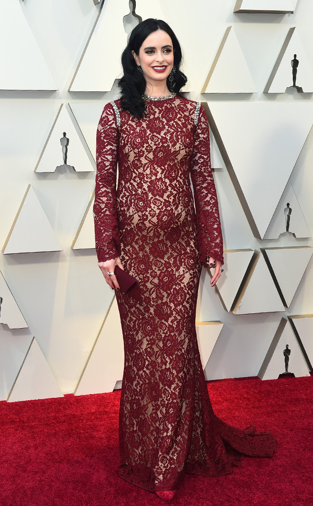 Krysten Ritter, 2019 Oscars, 2019 Academy Awards, Red Carpet Fashions