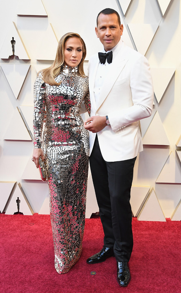 Jennifer Lopez, Alex Rodriguez, Couples, 2019 Oscars, 2019 Academy Awards
