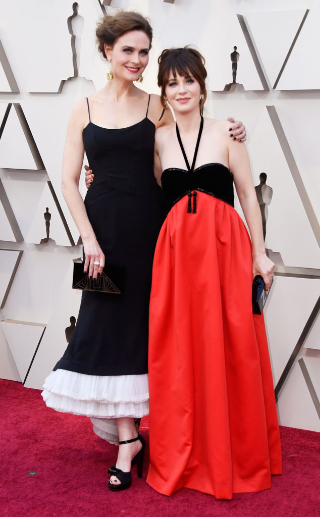 Emily Deschanel, Zooey Deschanel, 2019 Oscars, 2019 Academy Awards