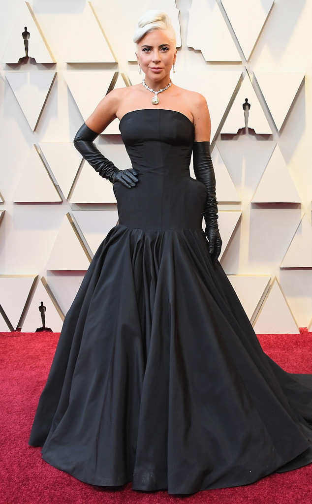 Image result for lady gaga necklace 2019 oscars