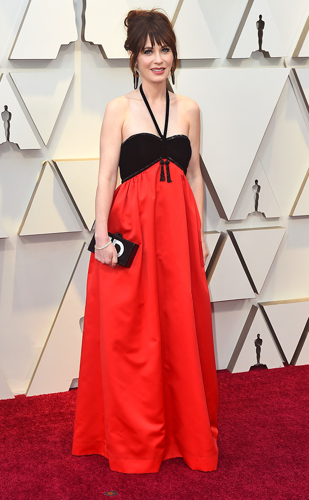 Zooey Deschanel, 2019 Oscars, 2019 Academy Awards, Red Carpet Fashions