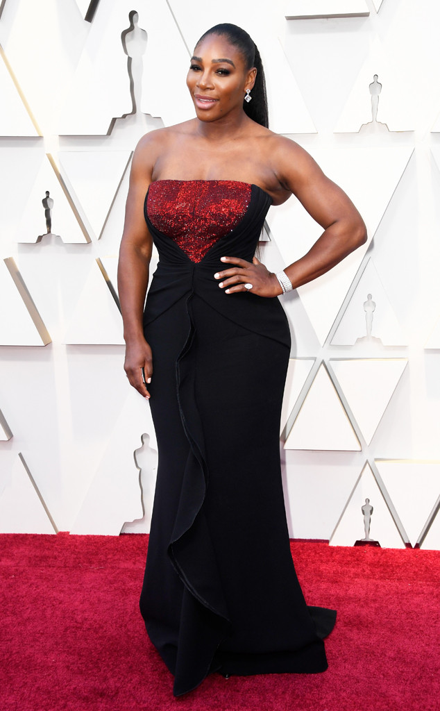 Serena Williams, 2019 Oscars, 2019 Academy Awards, Red Carpet Fashions, Widget