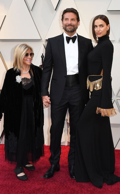 Bradley Cooper, Irina Shayk, Gloria Campano, Celebs and Moms, 2019 Oscars
