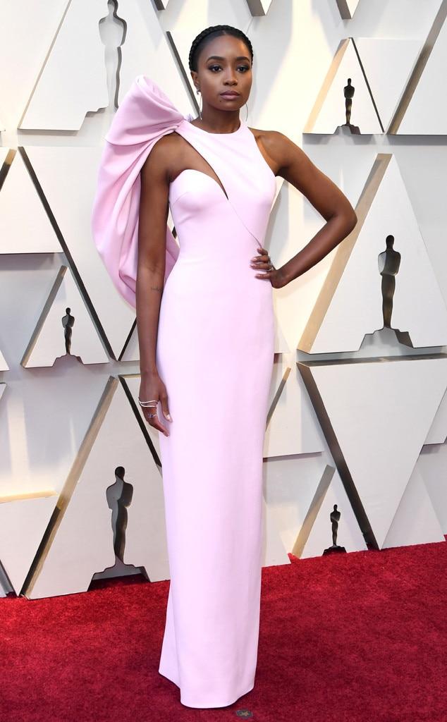Kiki Layne, 2019 Oscars, 2019 Academy Awards, Red Carpet Fashions