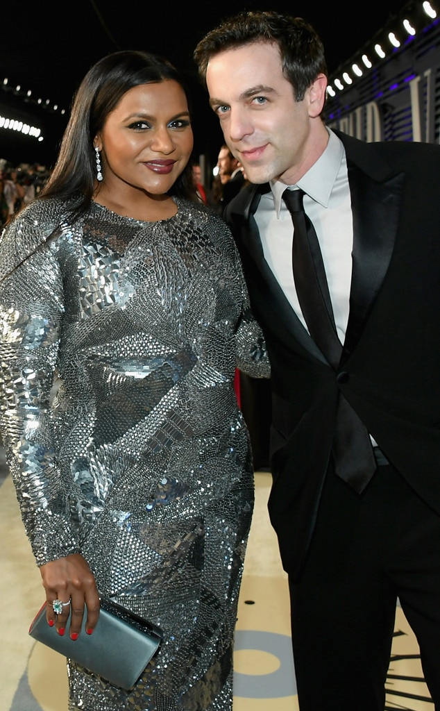 The Office : Mindy Kaling and BJ Novak -  How dare they show up to an Oscars party looking like that?