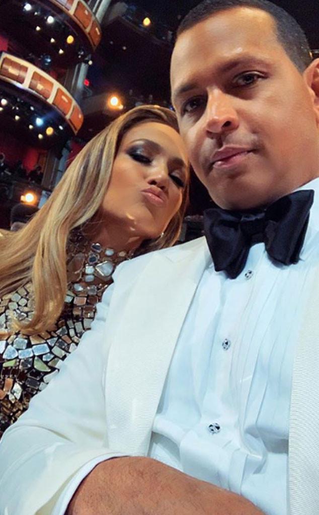 Alex Rodriguez, Jennifer Lopez, Instagram, Oscars