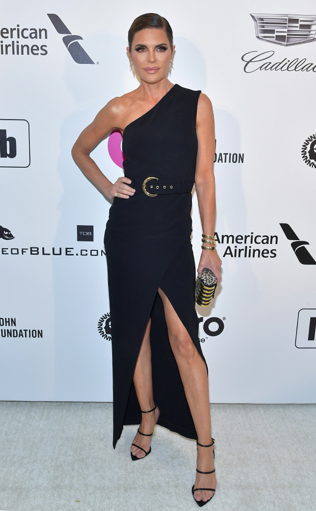 Lisa Rinna, Elton John Oscar Party, 2019 Oscars