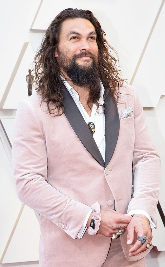 Jason Momoa, Fendi Scrunchi, 2019 Oscars