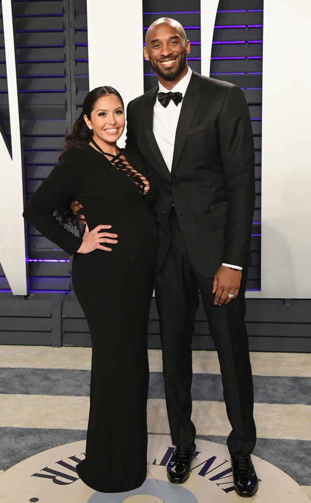 Vanessa Laine Bryant, Kobe Bryant, 2019 Vanity Fair Oscar Party, 2019 Oscars
