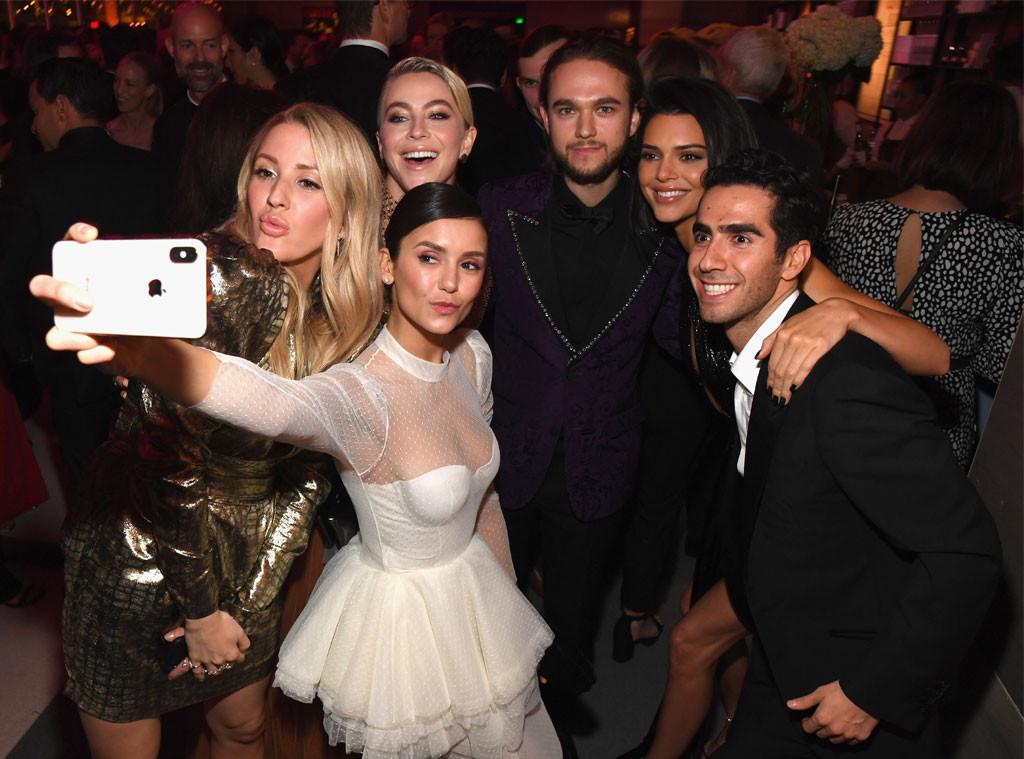 Ellie Goulding, Julianne Hough, Nina Dobrev, Zedd, Kendall Jenner, 2019 Vanity Fair After Party, 2019 Oscars, After Party