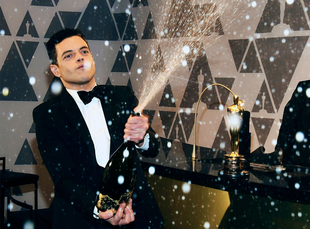 Rami Malek, 2019 Oscars, After Party