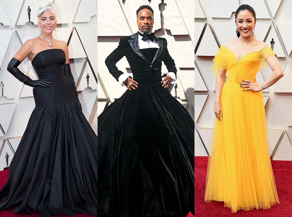 Lady Gaga, Billy Porter, Constance Wu, 2019 Oscars, Oscars Best Dressed