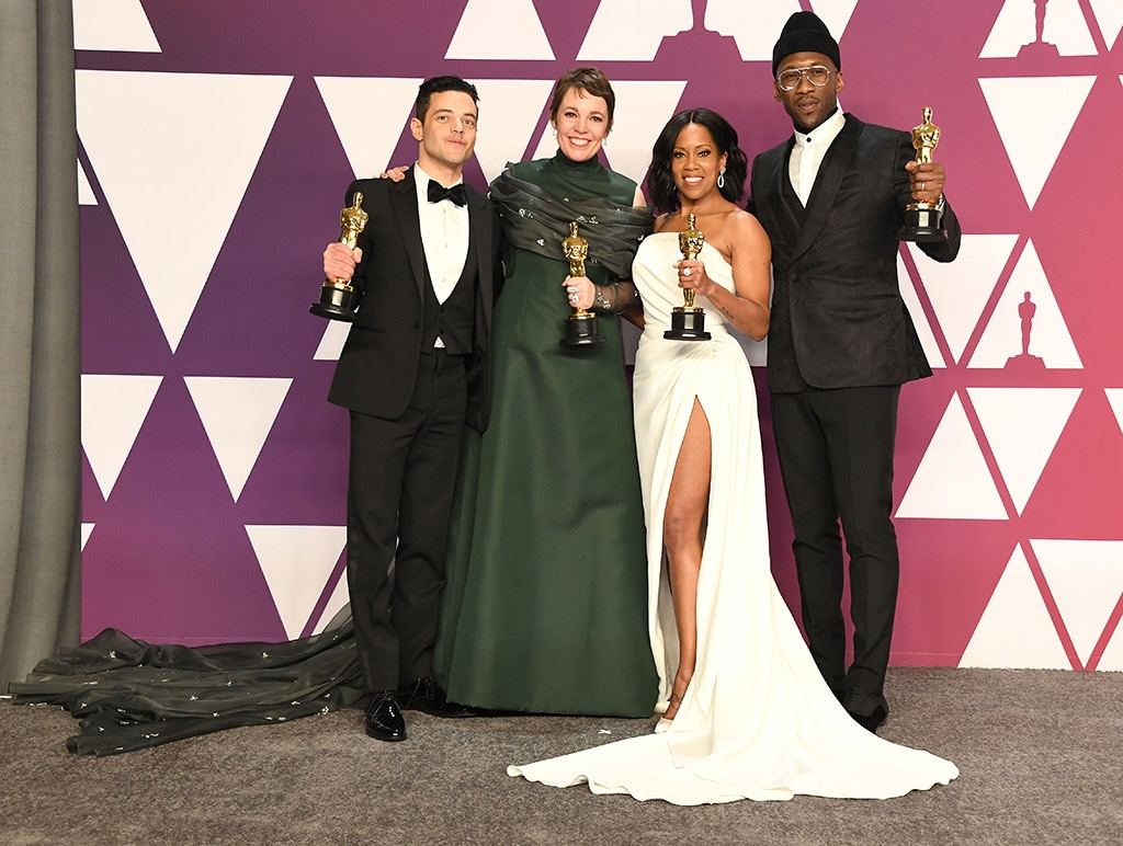 Rami Malek, Olivia Colman, Mahershala Ali, Regina King, 2019 Oscars