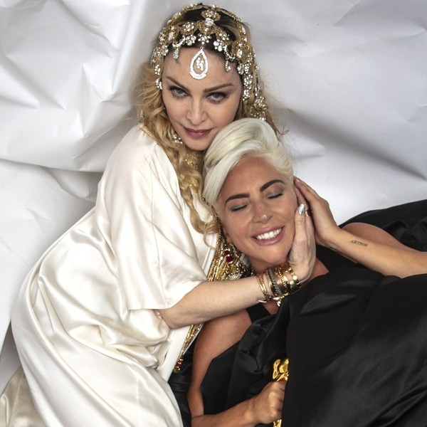 Lady Gaga, Madonna, Time, Vanity Fair Party
