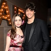 Lily Collins, Noah Centineo, 2019 Vanity Fair Oscar After Party, 2019 Oscars, After Party