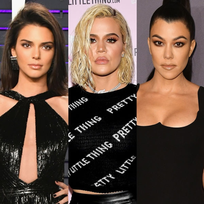 014b5b4477d Khloe Kardashian Sizzles in Risqué Bodysuit Alongside Kourtney Kardashian  and Kendall Jenner