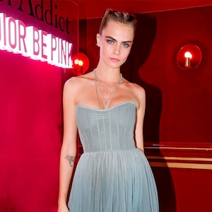 Cara Delevingne, Dior Addict Stellar Shine Party, Paris Fashion Week 2019