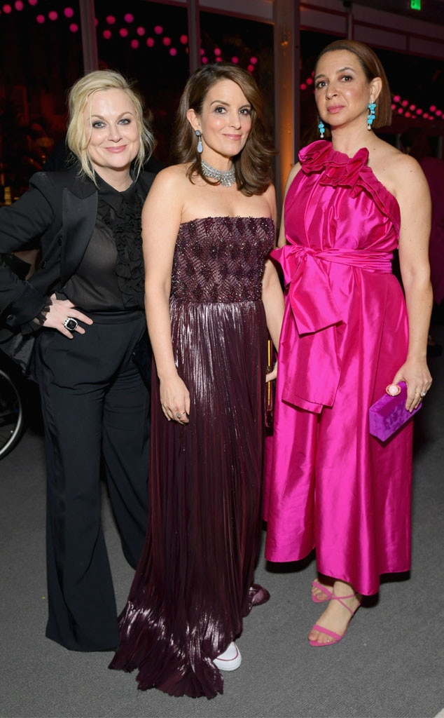 Amy Poehler, Tina Fey, Maya Rudolph, 2019 Vanity Fair After Party, 2019 Oscars, After Party