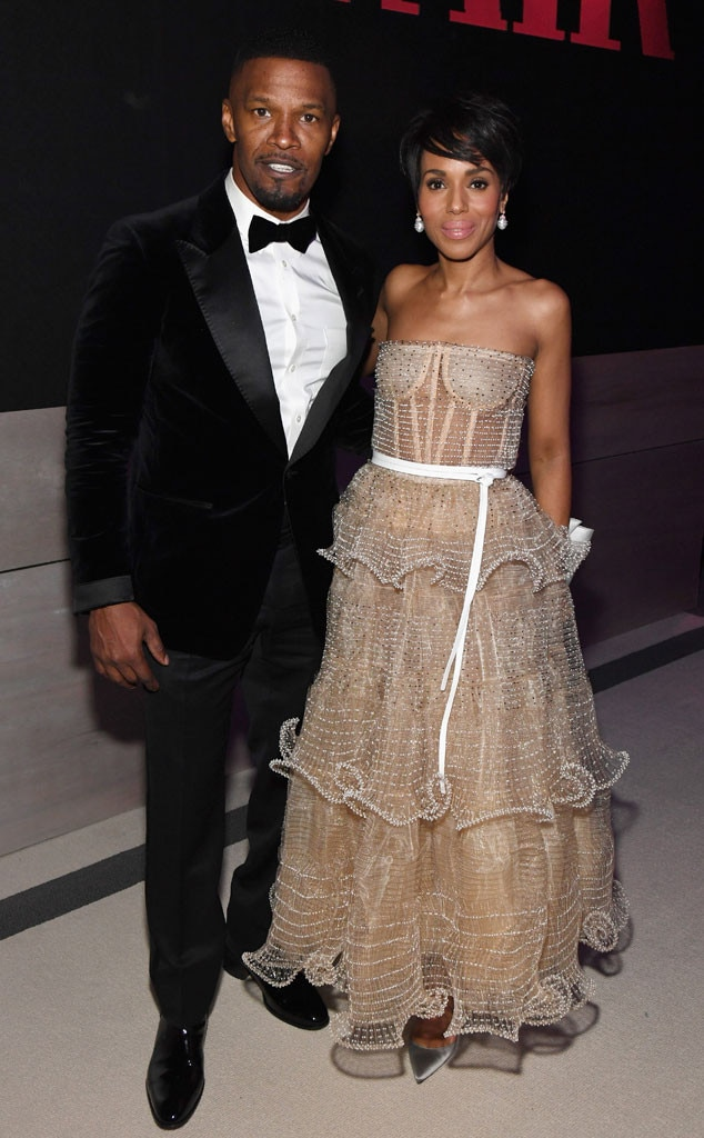 Jamie Foxx & Kerry Washington from Oscars 2019 After-Party ...