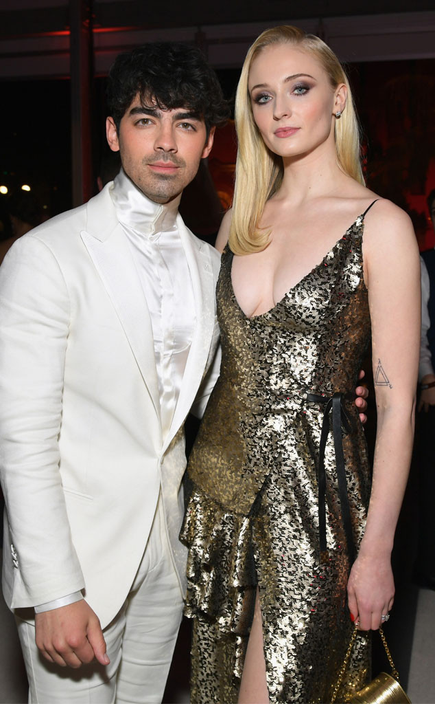 Joe Jonas, Sophie Turner, 2019 Vanity Fair After Party, 2019 Oscars, After Party