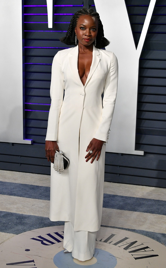 Image result for Danai Gurira oscar after party 2019""