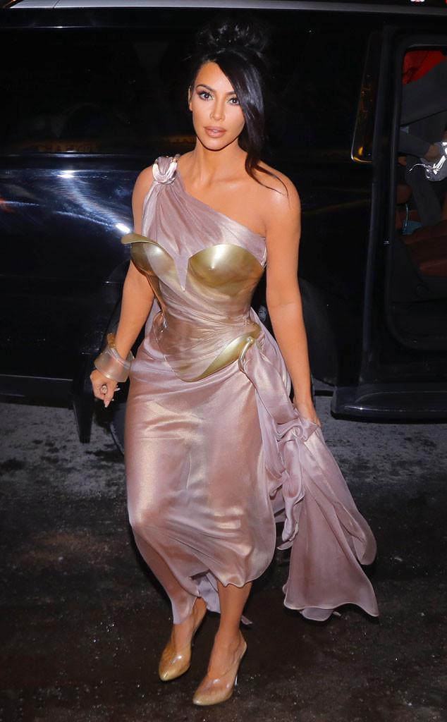 Kim Kardashian Looks Like A Total Greek Goddess At Thierry Mugler S