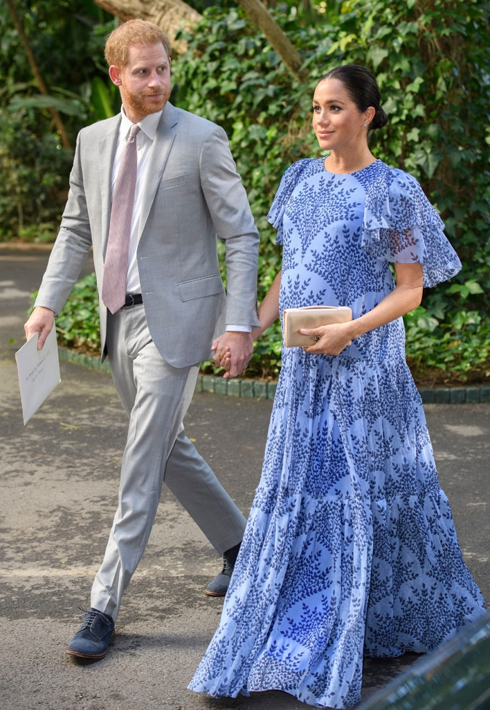 Meghan Markle, Prince Harry, Duke and Duchess of Sussex, Morocco, Royal Baby