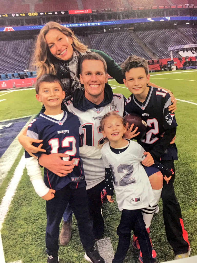 Tom Brady, Kids, Benjamin, Vivian, John, Gisele Bundchen