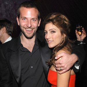 Jennifer Esposito, Bradley Cooper, 2007 Golden Globe Awards after party