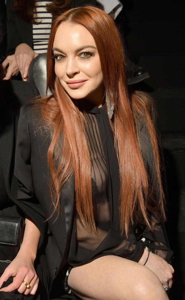 Lindsay Lohan, Celebs at Paris Fashion Week 2019