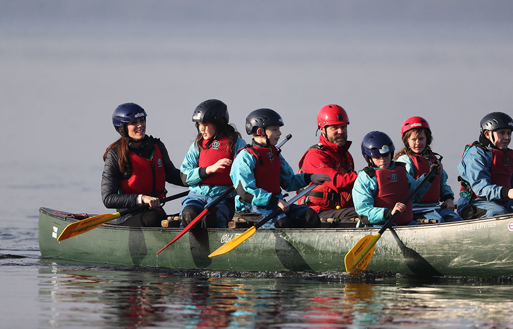 Kate Middleton, Duchess of Cambridge, Canoe, Northern Ireland
