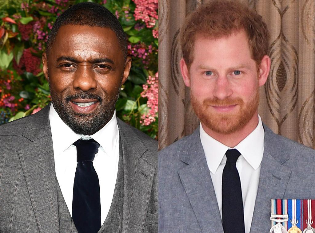 Idris Elba, Prince Harry