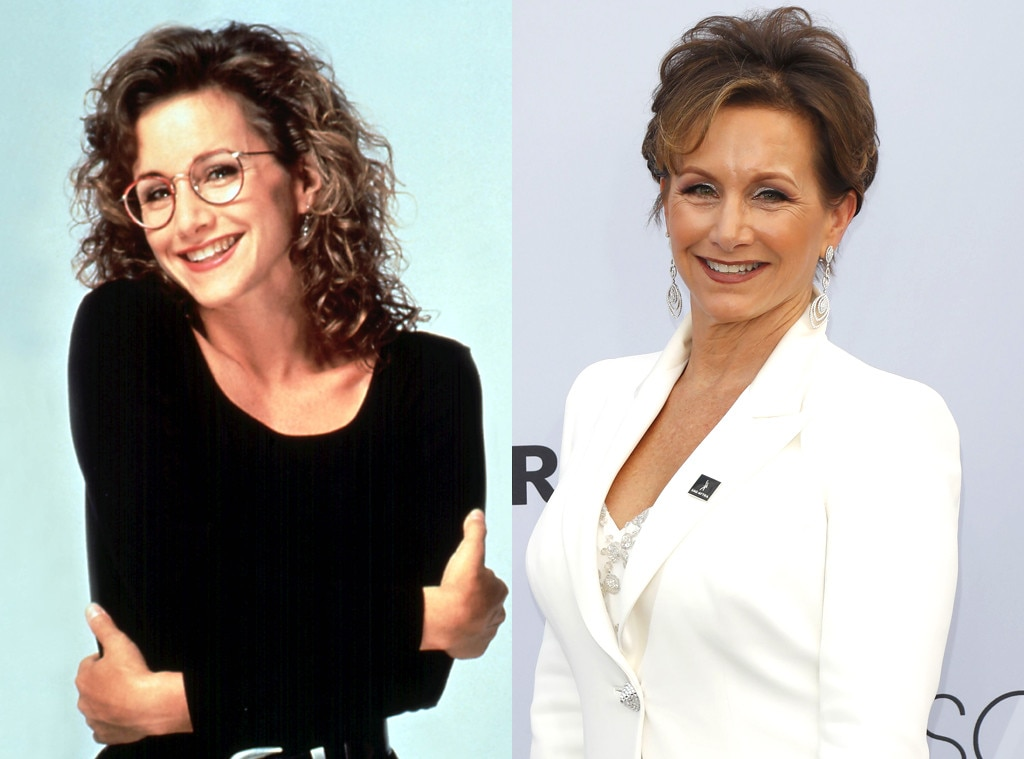 Gabrielle Carteris, Beverly Hills, 90210, Then and Now
