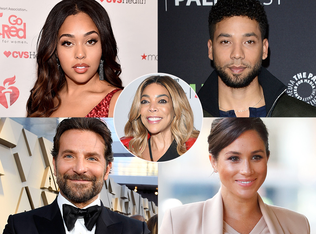 Wendy Williams, Jordyn Woods, Jussie Smollett, Bradley Cooper, Meghan Markle