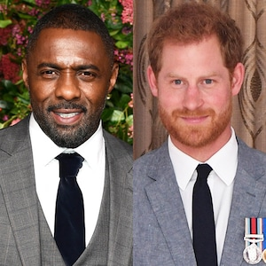 Idris Elba, Prince Harry