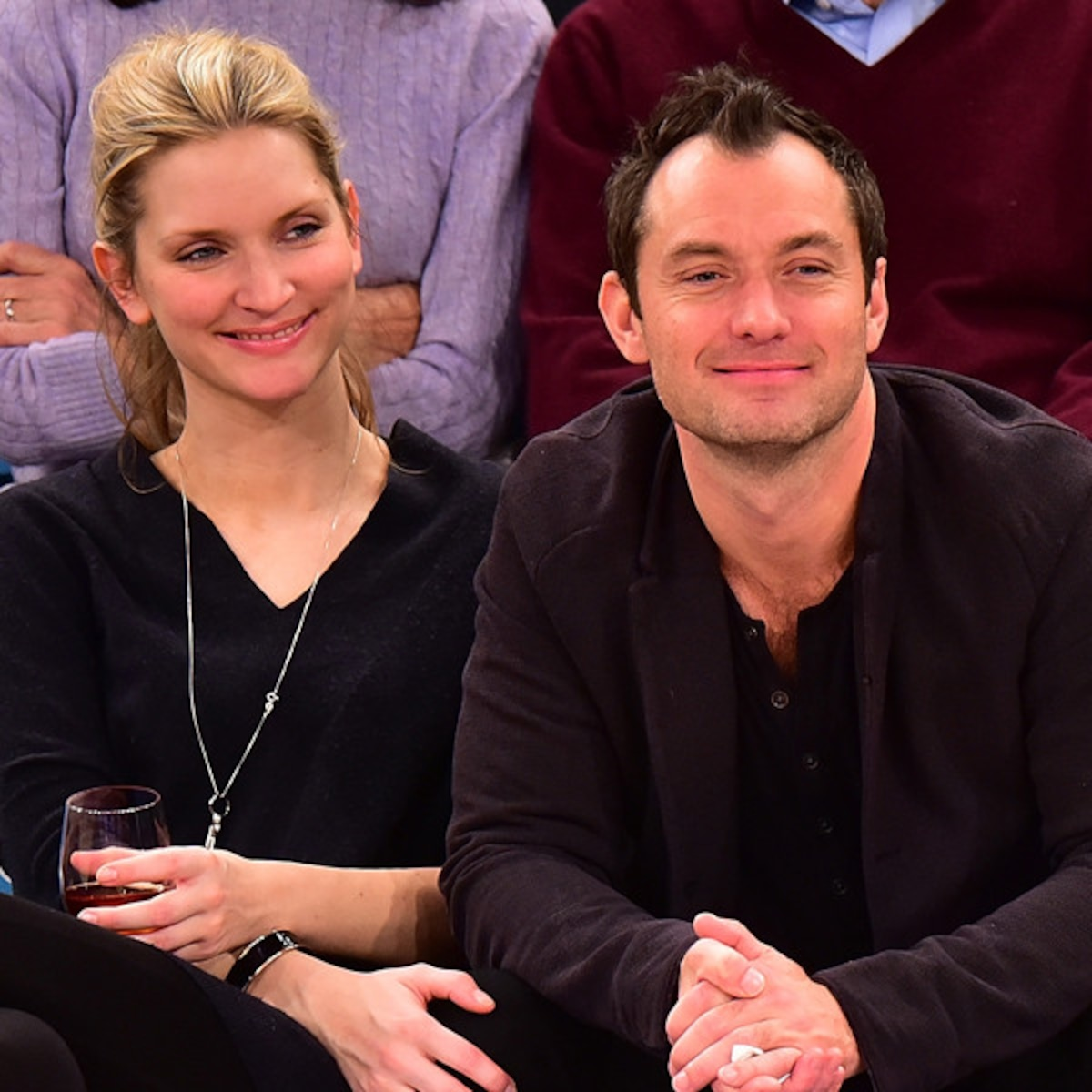 Is Jude Law Engaged Gf Phillipa Coan Sparks Rumors With Ring E Online