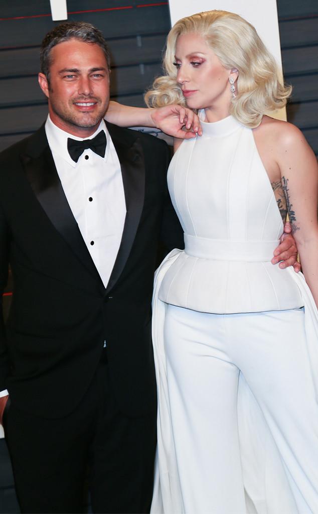 Taylor Kinney, Lady Gaga, 2016 Vanity Fair Oscar Party