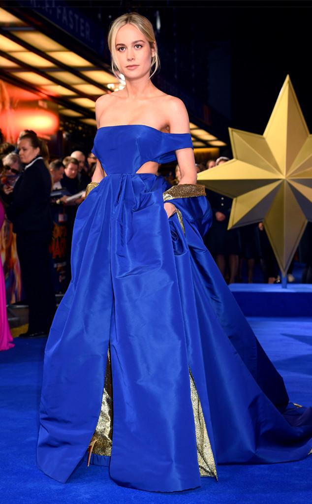 Brie Larson, Captain Marvel, London premiere